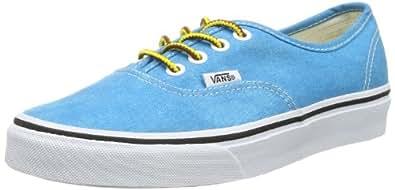 Vans Authentic, Unisex-Adults' Trainer, Blue ((Washed), 3 UK