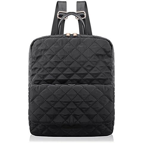 Bolsa de hombro doble/Bolso del algodón del espacio/ bolsos rómbica de las mujeres/ paquete de estudiante doble