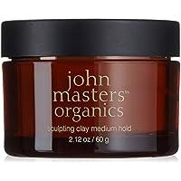 John Masters Organics - Haircare Sculpting Clay - Medium Hold 60 Gr- Linea Finish & Styling
