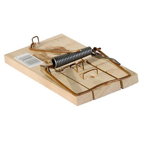 Holz-Rattenfalle Mit Holzwippe und Köderbügel