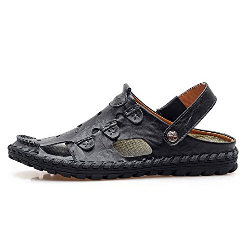 Men's Breathable Zapatos Chinelo Masculino Casual Sandal Black