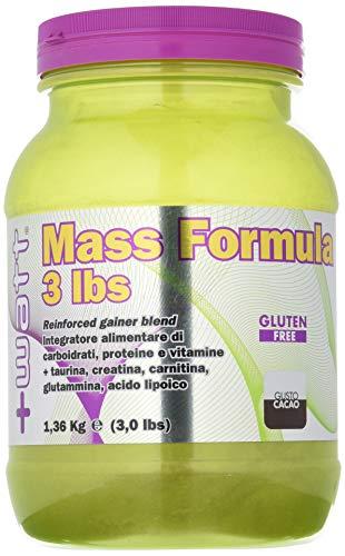 +watt mass formula cacao - 1.36 kg