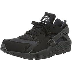 Nike Air Huarache, Zapatillas de Running para Hombre, Negro Black-White, 40 EU