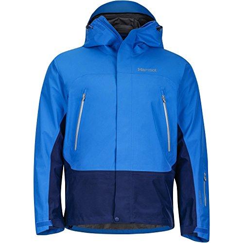 Marmot Jungen Spire Jacket Hardshelljacke, Clear Blue/Arctic Navy, S