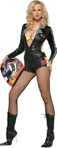 Rennfahrerin Kostüm Leg Avenue (Sexy Rennfahrer Kostüme)