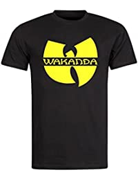 Magic Custom Wakanda - T-Shirt Noir Wakanda Wu Tang Black Panther