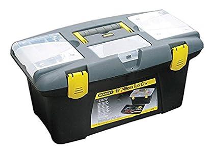 Stanley (STA192906) Jumbo Caja de herramientas, 486 mm x 276 mm x 232 mm