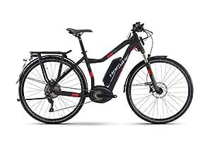 E di Bike Haibike xduro Trekking S 5.028'11G XT, Bosch Performance Speed veloce Ebike fino a 45km/H, Cornice altezze: 48, colori: nero/rosso opaco