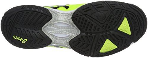 Asics Herren Gel-Solution Speed 3 Tennisschuhe Mehrfarbig (Safety Yellow/Black/White)