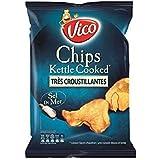 Vico chips kettle cooked nature 120g (Prix Par Unité) Envoi Rapide Et Soignée