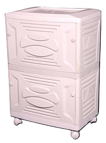 Vachann Ups - Vg Plastic Cabinet - 61 X 28 X 40 Cm, White