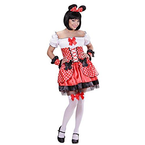 Minnie Mouse Kostüm Mauskostüm Damen L 42/44 Maus -