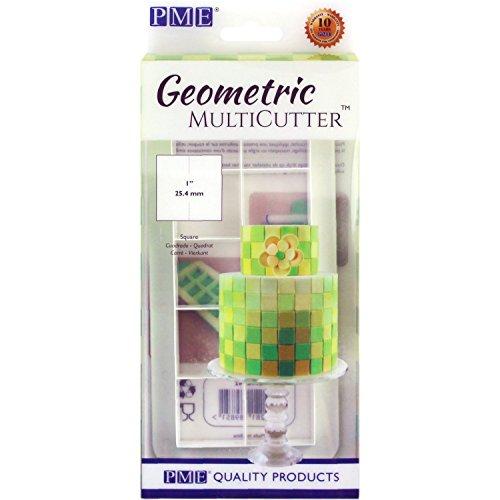 PME MultiCutter für Kuchendesign, geometrisch, plastik, weiß, M