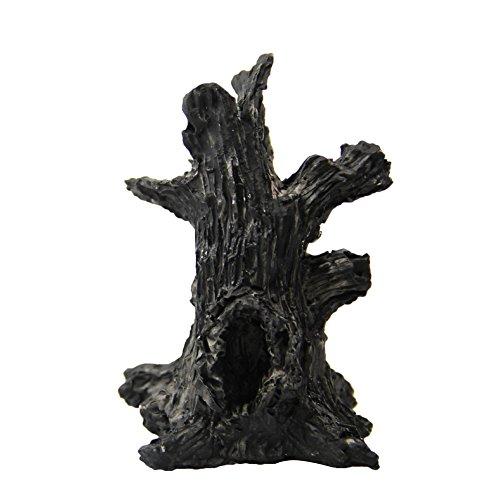 Chakil - Adorno en miniatura de árbol de hadas para jardín, resina,...