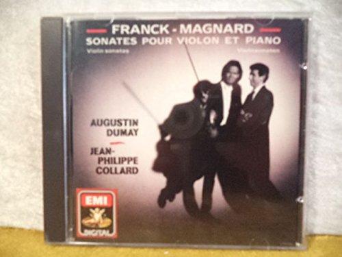 Franck: Sonate pour violon et piano en la majeur - Magnard: Sonate pour violon et piano en sol majeur [Import USA]