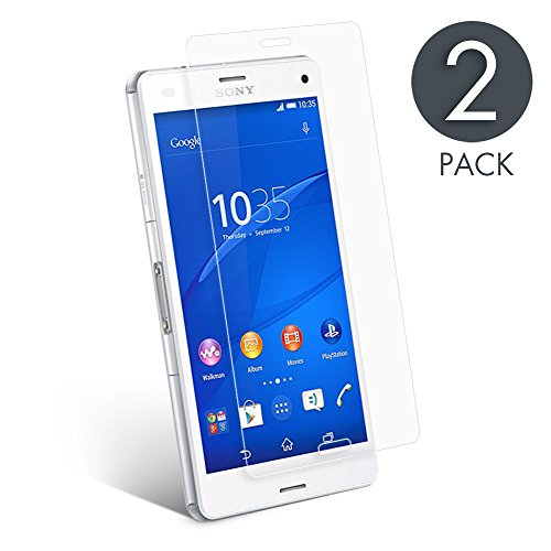 sony-xperia-z3-screen-protector-2-pack-aimake-tempered-glass-screen-protector-52-inch-clear-round-ed