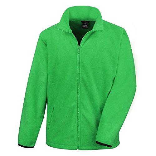 Result Core Herren Fleece-Jacke (XL) (Vivid Grün) -