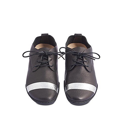 Trippen Chaussures à Lacets et Coupe Classique Femme Noir