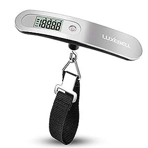 Luxebell® Bilancia digitale pesa valigie con Con  Zero e Tare Batteria Inclusa