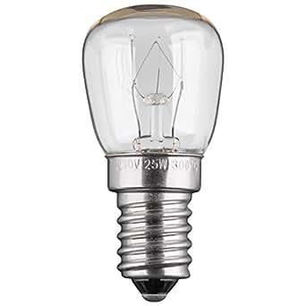 5 st ck 25w backofenlampe gl hbirne gl hlampe backofen e14. Black Bedroom Furniture Sets. Home Design Ideas