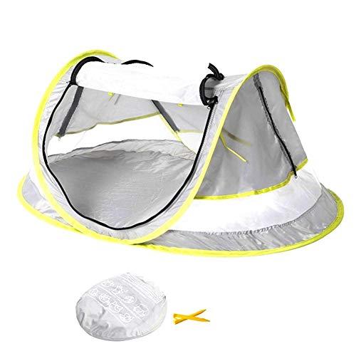 Baby-Multifunktionsreisebett Portable Folding Pop Up Beach Zelt mit Moskitonetz Wasserdichte Anti-UV-Sonnenschutz Abdeckung