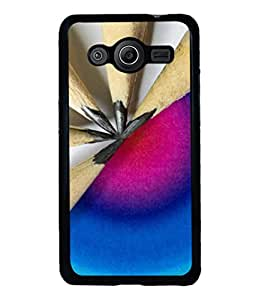 printtech Pencil Leather Pattern Back Case Cover for Samsung Galaxy Core 2 G355H