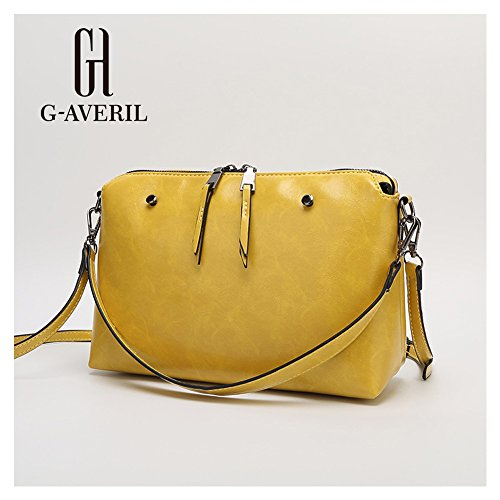 G-AVERIL, Borsa a mano donna giallo Yellow Yellow