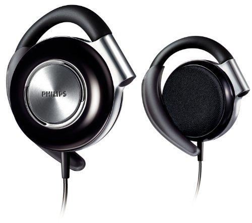 Philips SHS4700/10 Ear-Clip Kopfhörer (104 dB, 1,2 m) schwarz/silber
