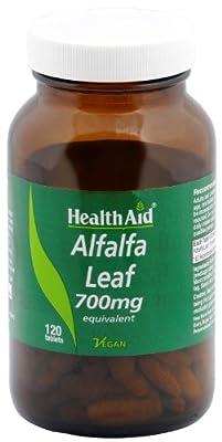 HealthAid Alfalfa 700mg - 120 Vegan Tablets by HealthAid