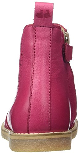 FRODDO Froddo Chelsea Boot G3160062, Bottes courtes Chelsea fille Rot (Fuxia)