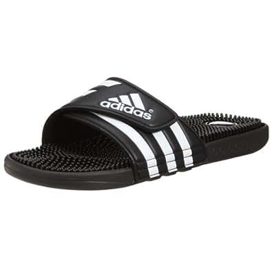 adidas Adissage, Unisex-Erwachsene Dusch- & Badeschuhe, Schwarz (Black/Black/Running White Ftw), 38 EU (5 Erwachsene UK)