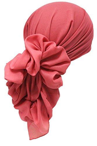 DeresinaHeadwear - Bufanda - para mujer 151 Vison Navy End Chain Print talla única