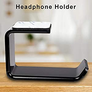 Kopfhörer Ständer Aufhänger Wandhalterung Kopfhörer Wand Schreibtisch Ständer Halterung Aufhänger Haltbarer Headset Halter Für Alle Kopfhörer Größe, 2St