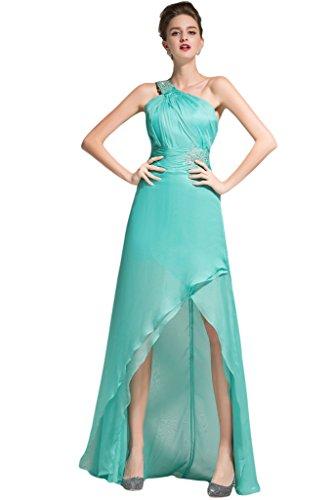 2015 Sunvary Suess Chiffon la-Traeger pietre Pleat party dress Ciao-Lo Prom dresses Huntergruen