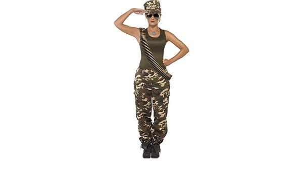 Und Damen Camouflage Gürtel Soldatin Frauen Mütze TOXkiuPZ