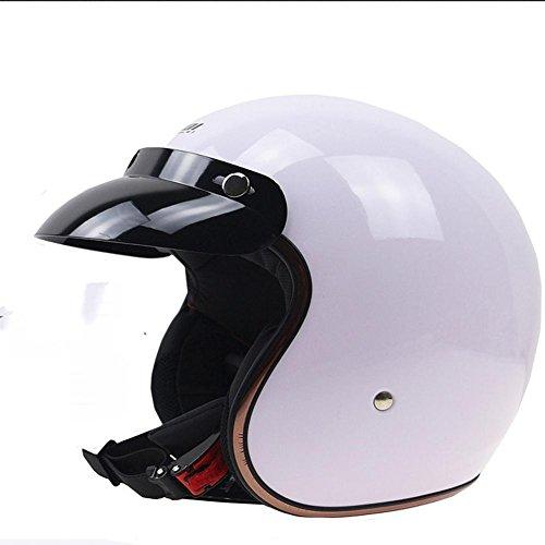 Street Bike Motorrad Helm für Erwachsene Männer Frauen Ultraleicht Integral Geformte Leichte Atmungsaktive 56-62 cm, 1100g , C , XL (Frauen Dirt Bikes)