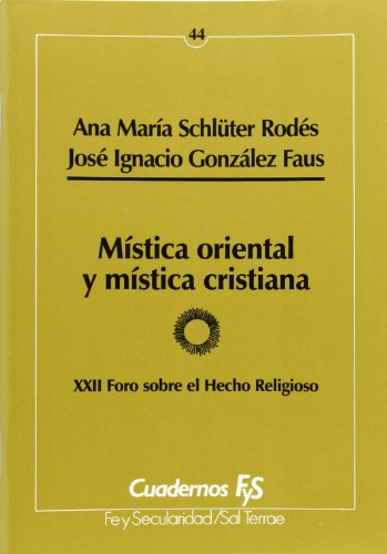 Portada del libro Mística oriental y mística cristiana (Cuadernos FyS)