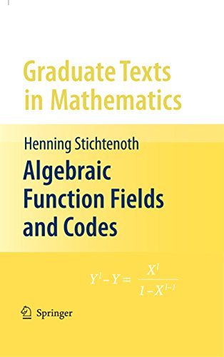 Algebraic Function Fields and Codes: Advanced Airport Security Operation (Graduate Texts in Mathematics Book 254) (English Edition)