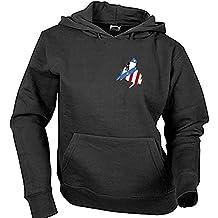 Sudadera Madrid Atlético Adulto/Niño Camisetas del Atleti Colchoneras Rojiblancos ATM