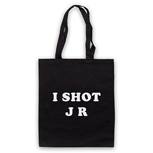 Inspiriert durch Father Ted I Shot JR Inoffiziell Umhangetaschen Schwarz