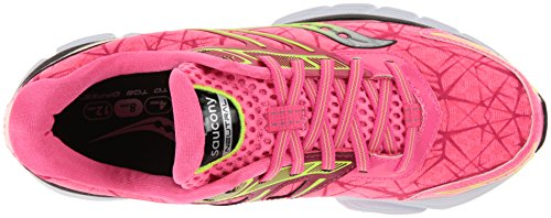 Saucony Women's Breakthru Running Shoe Pink / Citron