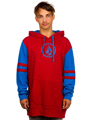 Volcom FADED FLEECE SNOW 17 Blood Red