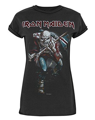 Mujeres - Amplified Clothing - Iron Maiden - Camiseta (L)