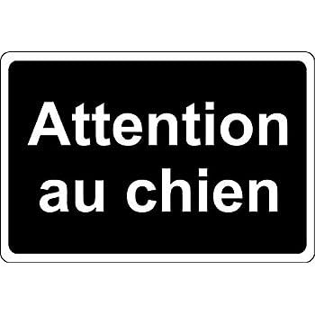 Adh/ésif Chien de Garde tr/ès S/érieux Protection Anti-UV Dimensions 300x210 mm