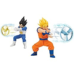 Pocoyó - dragon ball - goku - figura kamehameha dragon ball super
