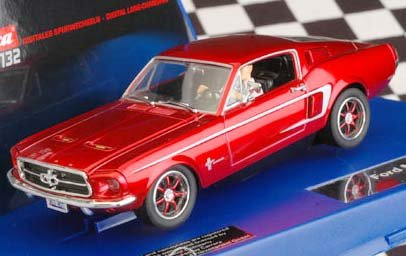 Carrera Digital 132 Ford Mustang GT 1967 red