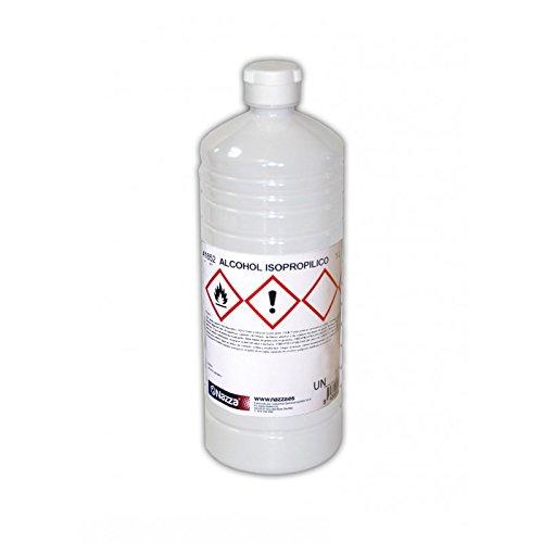 Alcohol Isopropílico Nazza   Para la limpieza de componentes electrónicos   100% Isopropanol puro   1 Litro