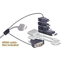 Liberty dl-ar392Universal HDMI und Apple zertifiziert Adapter Ring komplett Versammlung, mit 7Adapter