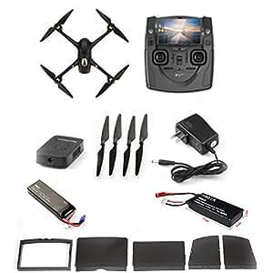 Hubsan H501S X4 Brushless FPV Droni Quadricotteri GPS Fotocamera 1080P HD 5.8Ghz con Telecomando (H501S Nero)