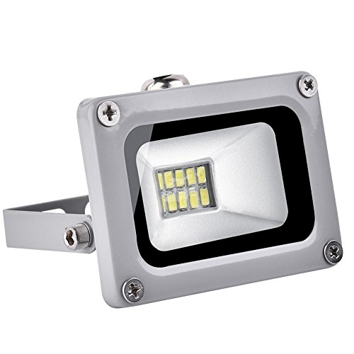 10W Cool White Outdoor Led Spot IP65, 1000LM LED Iluminación para exteriores,...